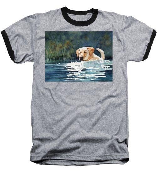 Loves The Water Baseball T-Shirt
