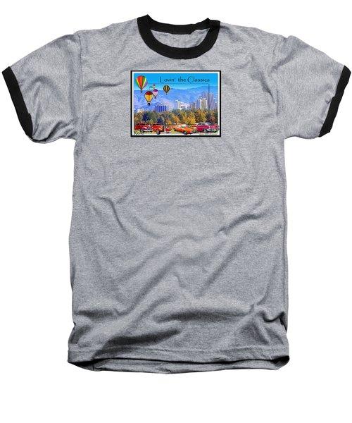 Lovin The Classics Baseball T-Shirt by Bobbee Rickard