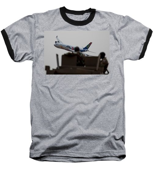 Low Airbus Baseball T-Shirt by Paul Job