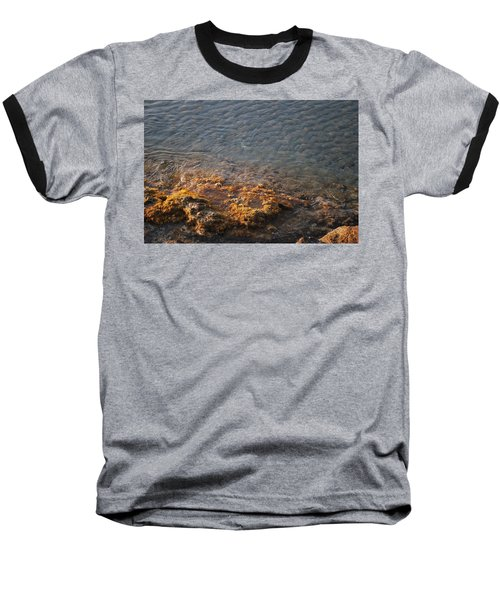 Baseball T-Shirt featuring the photograph Low Tide by George Katechis