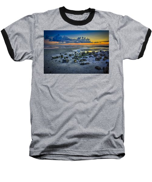 Low Tide On The Bay Baseball T-Shirt