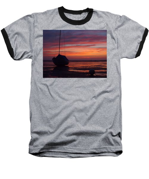 Sunrise At Low Tide Baseball T-Shirt