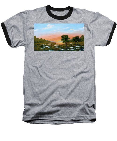 Lowcountry Sunrise Baseball T-Shirt