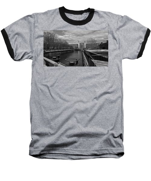 Lowell Ma Architecture Bw Baseball T-Shirt