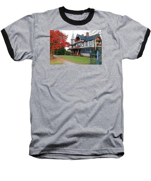Lowenstein-henkel House Baseball T-Shirt by Cynthia Guinn