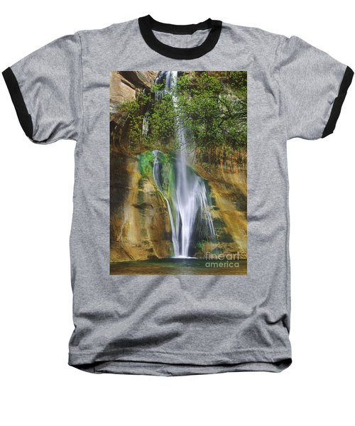 Baseball T-Shirt featuring the photograph Lower Calf Creek Falls Escalante Grand Staircase National Monument Utah by Dave Welling
