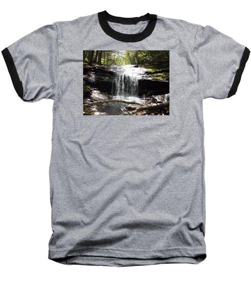 Lower Chapel Brook Falls Baseball T-Shirt