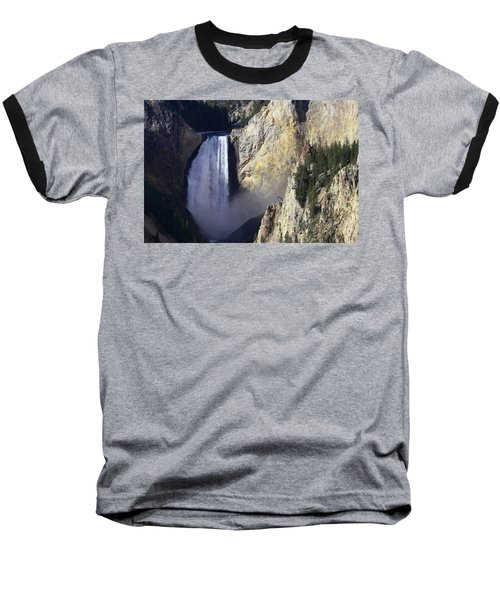 Baseball T-Shirt featuring the photograph Lower Falls by David Andersen