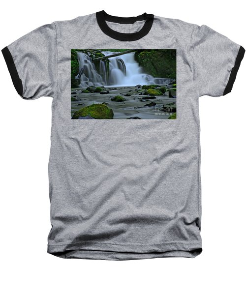 Lower Mcdowell Creek Falls Baseball T-Shirt