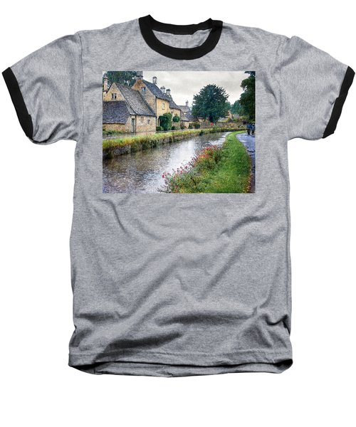 Lower Slaughter Baseball T-Shirt by William Beuther