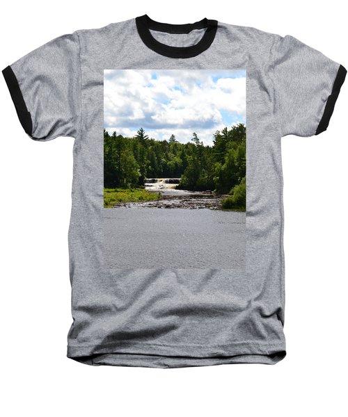 Lower Tahquamenon Falls L Baseball T-Shirt