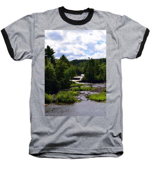 Lower Tahquamenon Falls Ll Baseball T-Shirt