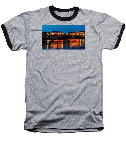 Lower Trenton Bridge Baseball T-Shirt