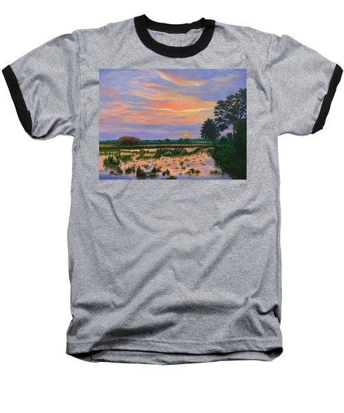 Loxahatchee Sunset Baseball T-Shirt