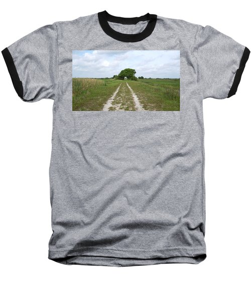 Loxahatchee Wildlife Refuge Baseball T-Shirt by Ron Davidson