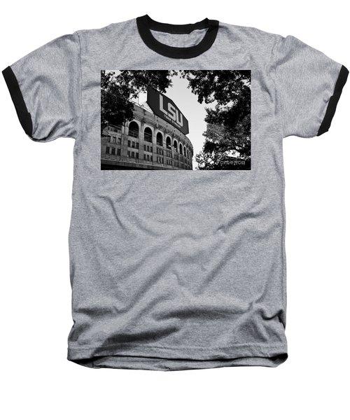 Lsu Through The Oaks Baseball T-Shirt by Scott Pellegrin