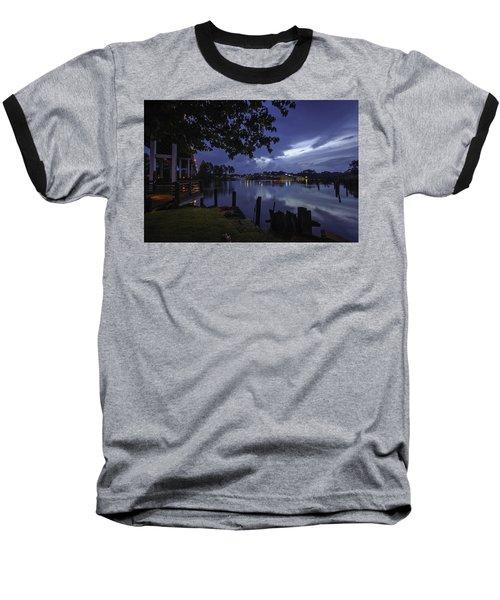Lu Lu S Before The Storm Baseball T-Shirt by Michael Thomas