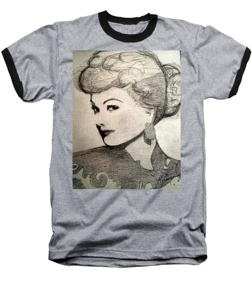 Lucille Ball Baseball T-Shirt