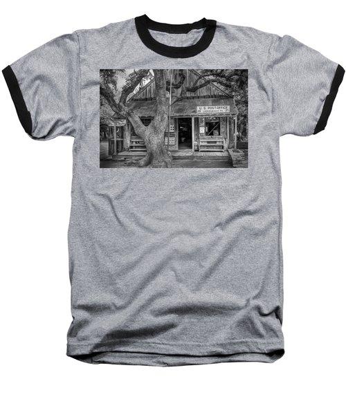Luckenbach 2 Black And White Baseball T-Shirt