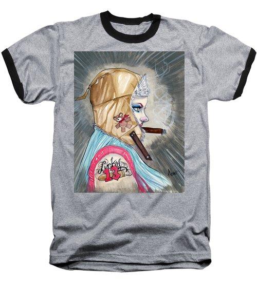 Lucky Bullet 13 Baseball T-Shirt