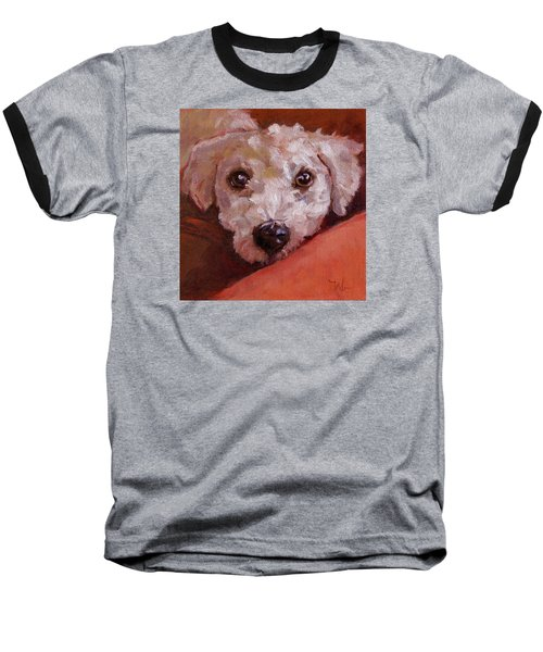 Lucky Baseball T-Shirt by Pattie Wall