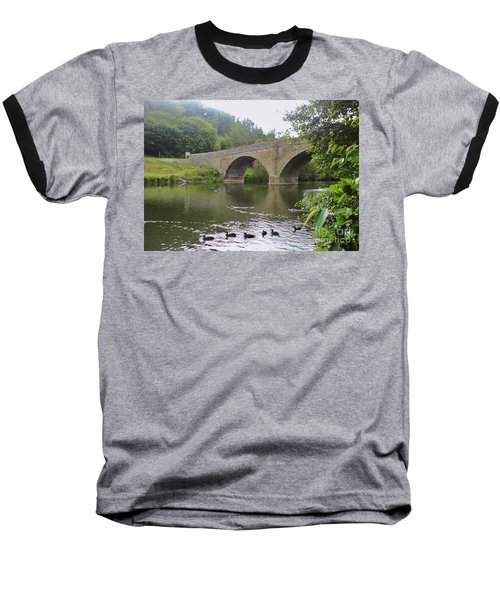 Baseball T-Shirt featuring the photograph Ludlow Bridge by John Williams