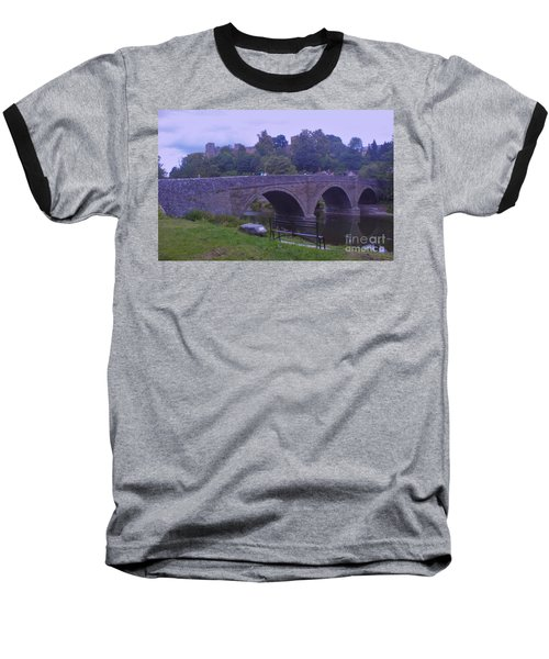 Baseball T-Shirt featuring the photograph Ludlow Castle by John Williams