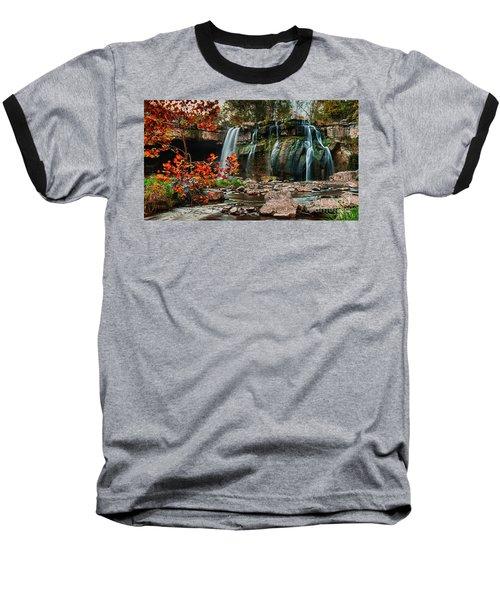 Ludlowville Falls Baseball T-Shirt