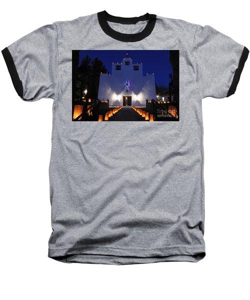 Luminarias At St Francis De Paula Baseball T-Shirt
