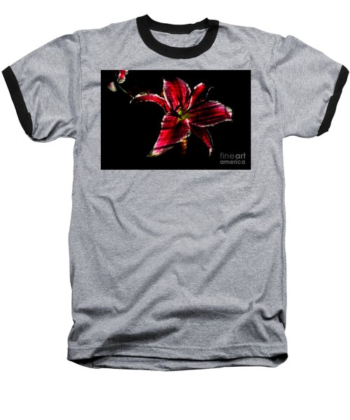 Baseball T-Shirt featuring the photograph Luminet Darkness by Jessica Shelton