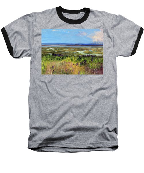 Lupine Of Fort Hill Baseball T-Shirt