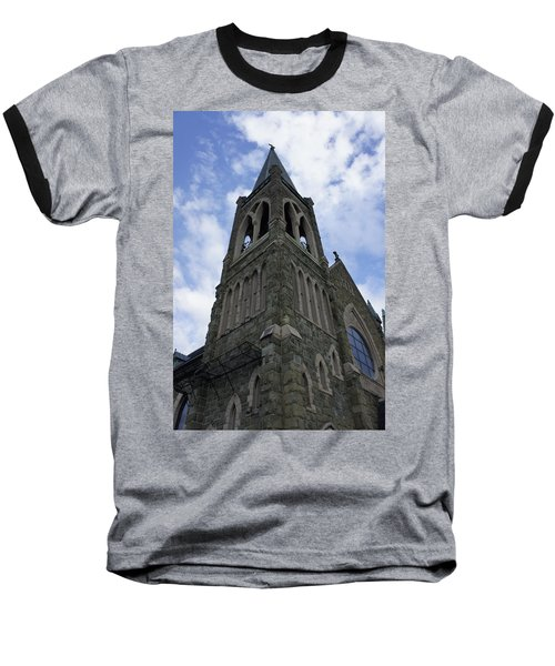 Baseball T-Shirt featuring the photograph Luray Chapel by Laurie Perry