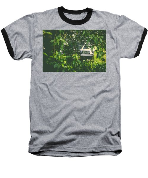 Lurking I Baseball T-Shirt by Marco Oliveira