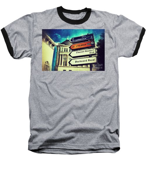 Luxembourg City Baseball T-Shirt
