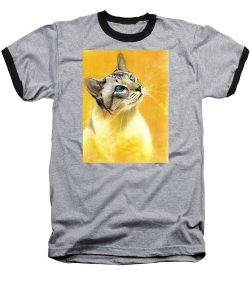 Lynx Point Siamese Baseball T-Shirt