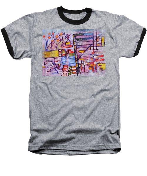Lysergic Descriptions Baseball T-Shirt by Jason Williamson