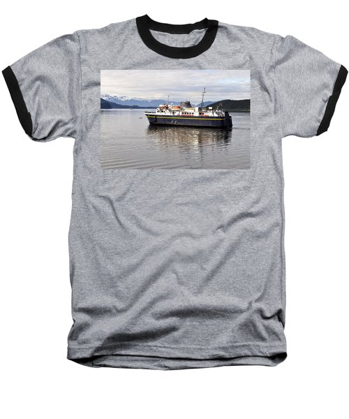 Baseball T-Shirt featuring the photograph M/v Leconte by Cathy Mahnke