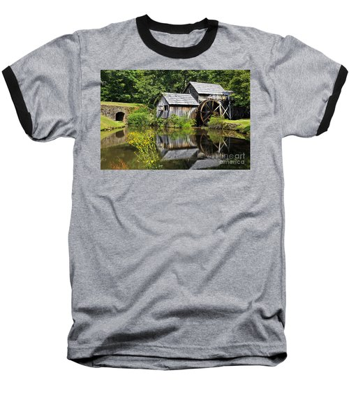 Mabry Mill In Virginia Baseball T-Shirt