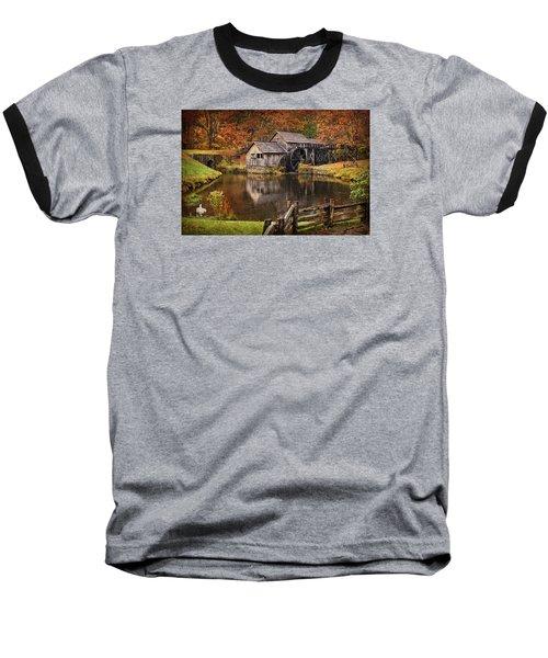 Mabry Mill Baseball T-Shirt by Priscilla Burgers