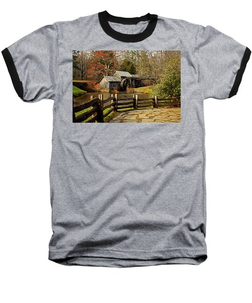 Mabry Mill Baseball T-Shirt by Suzanne Stout