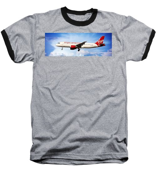 Virgin America Mach Daddy - Rare Baseball T-Shirt by Aaron Berg