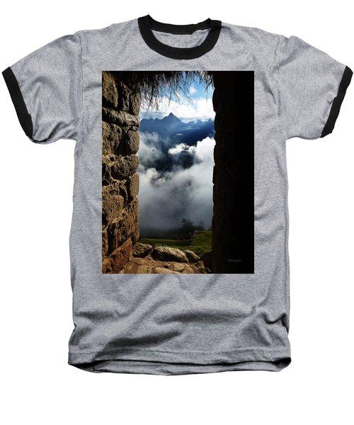 Machu Picchu Peru 4 Baseball T-Shirt