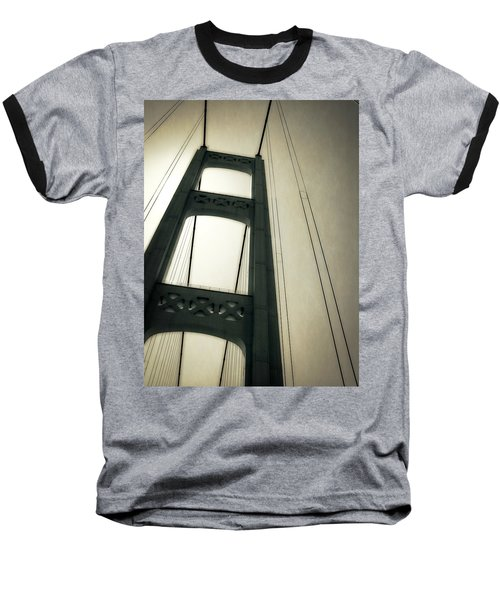 Mackinac Bridge 2.0 Baseball T-Shirt