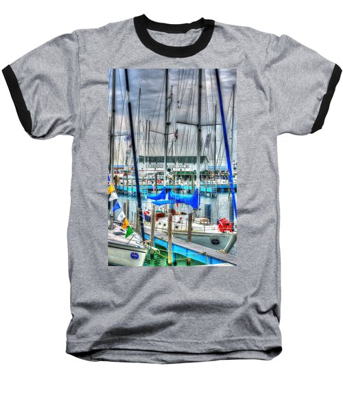Mackinac Island Harbor Baseball T-Shirt