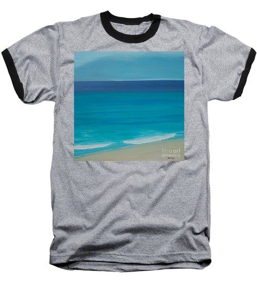 Baseball T-Shirt featuring the painting Madagascar by Mini Arora