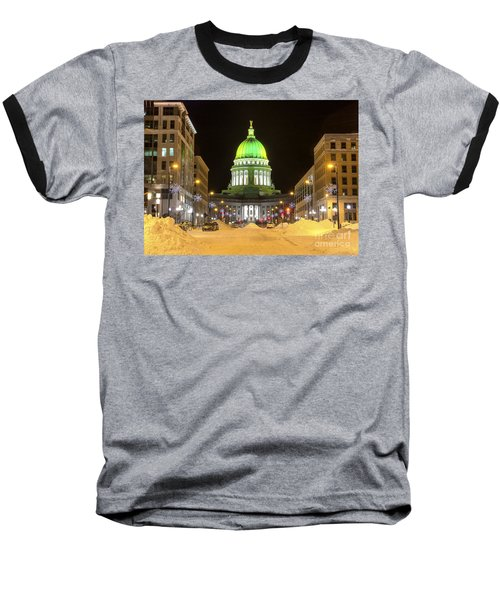 Madison Capitol Baseball T-Shirt by Steven Ralser