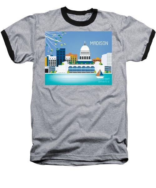 Madison Baseball T-Shirt by Karen Young
