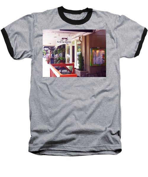 Madison Valley Street Scene 1 Baseball T-Shirt
