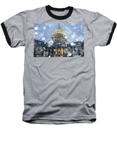 Madisonian Winter Baseball T-Shirt