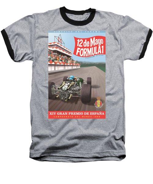Madrid Grand Prix 1968 Baseball T-Shirt